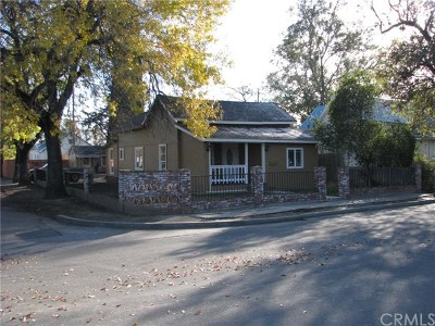 Willows CA Single Family Home For Sale: $169,500