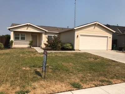 Willows CA Single Family Home For Sale: $224,000