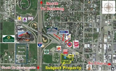 Orland Residential Lots & Land For Sale: Ninth St., Frances Lane & Walker St.