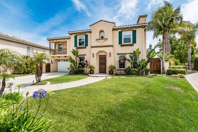 Carlsbad CA Single Family Home For Sale: $1,299,000