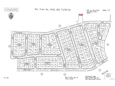 Victorville Residential Lots & Land For Sale: Eto Camino