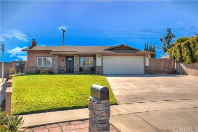 Rancho Cucamonga Single Family Home Active Under Contract: 7064 Filkins Avenue
