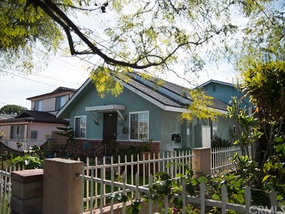San Pedro Multi Family Home For Sale: 459 W 20th Street