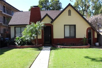 Burbank Single Family Home For Sale: 817 S 6th Street