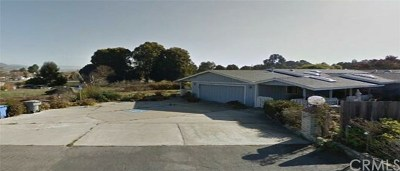 San Luis Obispo County Single Family Home Active Under Contract: 1820 Mountain View Drive
