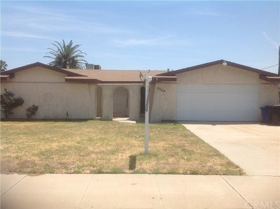 Fontana Single Family Home For Sale: 9369 Acacia Avenue