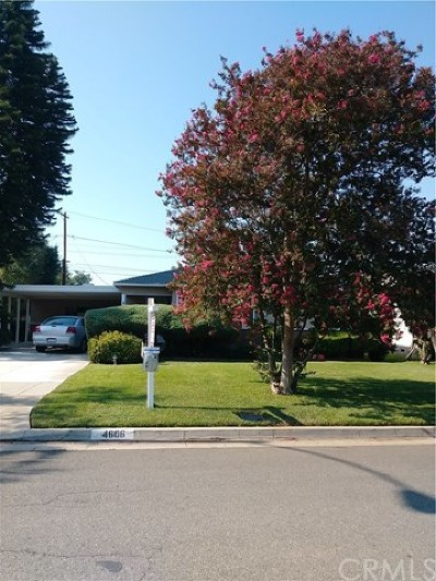 Riverside Single Family Home For Sale: 4606 Gardena Drive