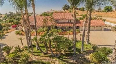 Corona Single Family Home For Sale: 7450 Poppy Street