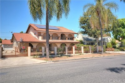 Pomona Single Family Home For Sale: 1149 Casa Vista Drive
