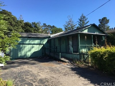 San Luis Obispo County Single Family Home For Sale: 2830 Ernest Place
