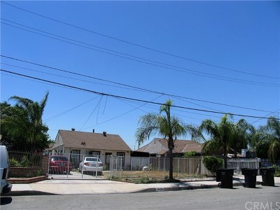 Pomona Single Family Home For Sale: 1078 E 3rd Street