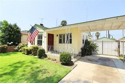 Burbank Single Family Home For Sale: 619 N Brighton Street