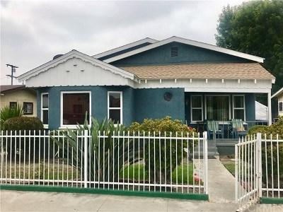 Los Angeles Single Family Home For Sale: 324 W 84th Street