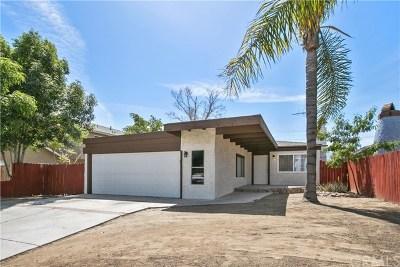 Corona Single Family Home For Sale: 1238 D Street