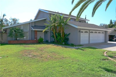 Chino Single Family Home Active Under Contract: 13379 Saddle Lane