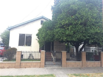 Los Angeles Multi Family Home Active Under Contract: 1925 Mozart Street