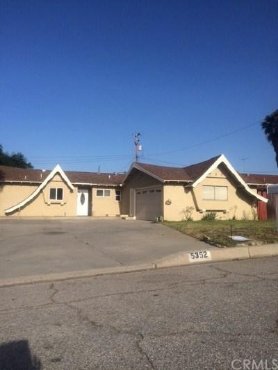 San Bernardino Single Family Home For Sale: 5352 Bonnie Street
