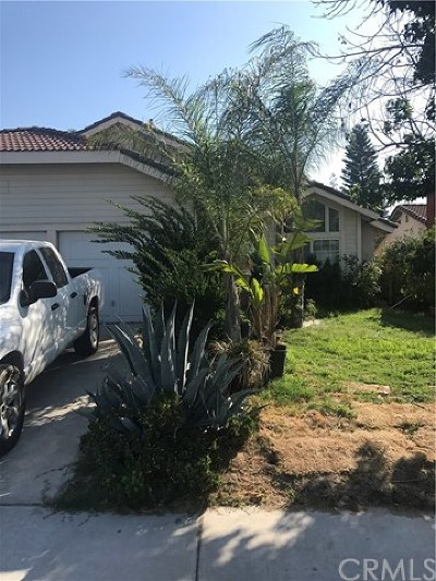 Riverside CA Single Family Home For Sale: $310,000