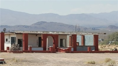 Newberry Springs Single Family Home For Sale: 46693 National Trails