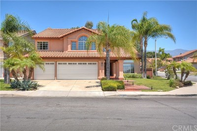 Rancho Cucamonga CA Single Family Home For Sale: $634,900