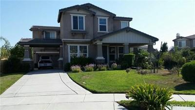 Rancho Cucamonga CA Single Family Home For Sale: $629,000
