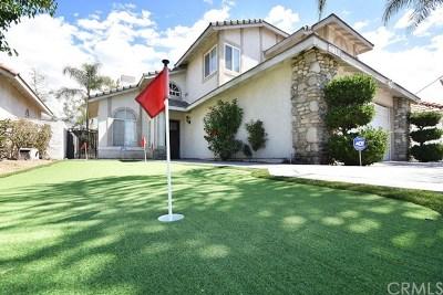 Rancho Cucamonga CA Single Family Home Active Under Contract: $509,900