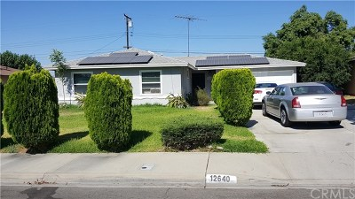 Chino Single Family Home For Sale: 12640 Anthony Place