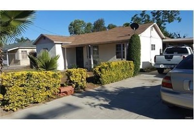 Fontana Single Family Home For Sale: 14935 Hibiscus Avenue