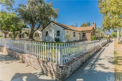 Pomona Single Family Home For Sale: 1625 N Palomares Street