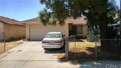 Moreno Valley Single Family Home For Sale: 13369 Cavandish Ln