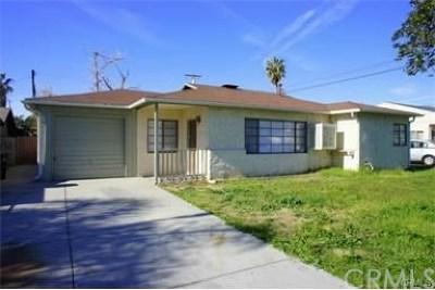 Fontana Single Family Home For Sale: 16316 Taylor Avenue