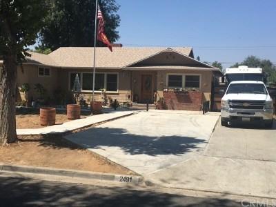 Riverside Single Family Home For Sale: 2491 Carlton Place