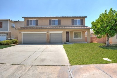 Jurupa Single Family Home Active Under Contract: 11911 Sunstone Court