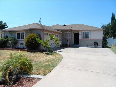 Downey Single Family Home For Sale: 9143 Cord Avenue