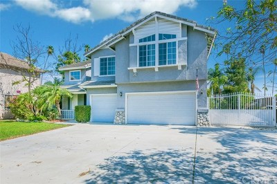 Corona Single Family Home For Sale: 975 Bouquet Circle
