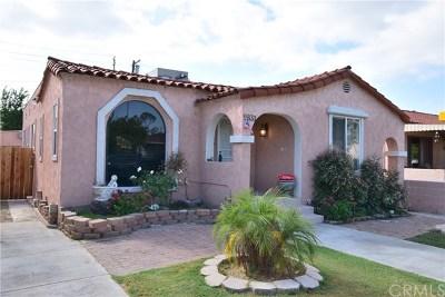 Long Beach Single Family Home For Sale: 5833 Brayton Avenue