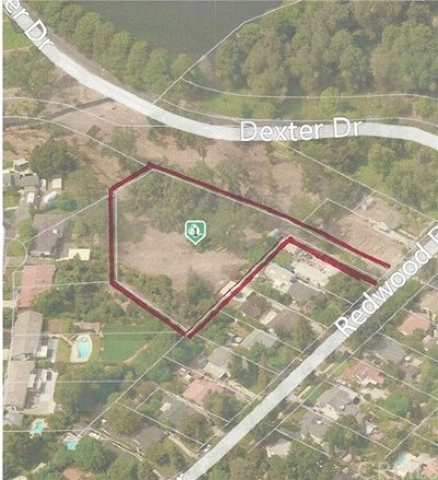 Riverside Residential Lots & Land For Sale: Redwood Drive