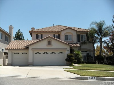 Rancho Cucamonga Single Family Home For Sale: 5599 Carmello Court