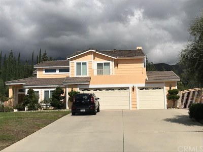Rancho Cucamonga Single Family Home For Sale: 8232 Hillside Road