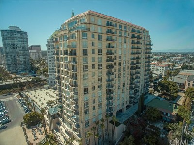 Los Angeles County Condo/Townhouse For Sale: 850 E Ocean Boulevard E #1403
