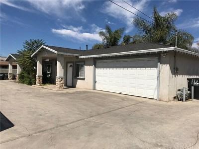 Pomona Multi Family Home For Sale: 1659 E 9th Street