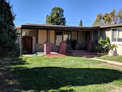 Single Family Home For Sale: 8232 Archibald Avenue