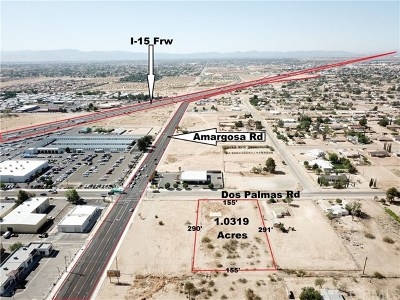 Victorville Residential Lots & Land For Sale: 15262 Dos Palmas Road