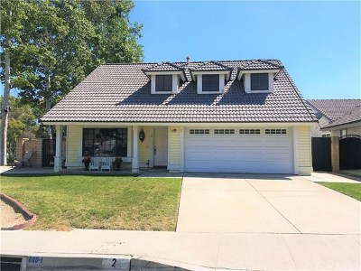 Pomona Single Family Home For Sale: 2 Quiet Hills Road