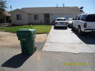 California City Single Family Home For Sale: 5 Various Addresses