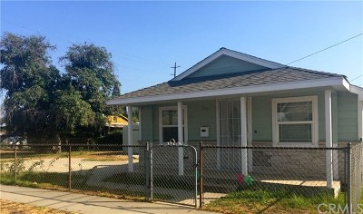Azusa Single Family Home For Sale: 120 W 3rd Street