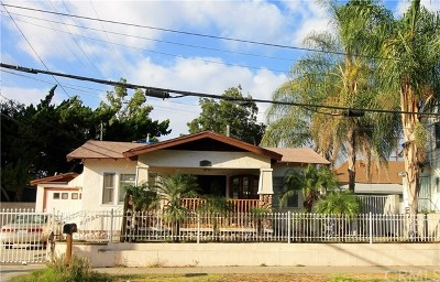 Pomona Single Family Home For Sale: 245 W Alvarado Street