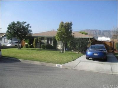 Glendora Single Family Home For Sale: 503 W Leeside St.