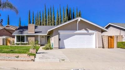San Dimas Single Family Home For Sale: 1511 Calle Miradero