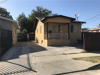 Los Angeles Single Family Home For Sale: 9547 Defiance Avenue